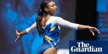 """Nia Dennis remporte les suffrages pour son superbe exercice de gymnastique """"black excellence"""