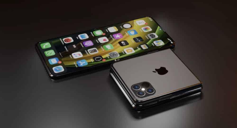 Des prototypes d'iPhone pliables seraient prévus