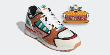 """Les Simpson"" x Adidas ZX 10000"