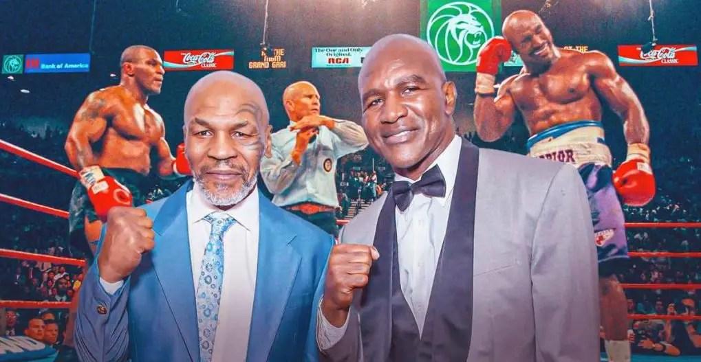 Le combat entre Mike Tyson et Evander Holyfield aura lieu le 29 mai !