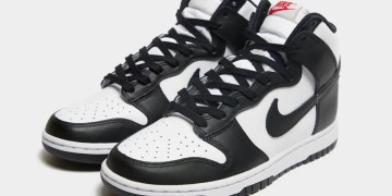 La Nike Dunk High sort en version Black and White