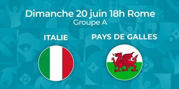 Euro 2021 - Regarder Italie - Pays de Galles en streaming live
