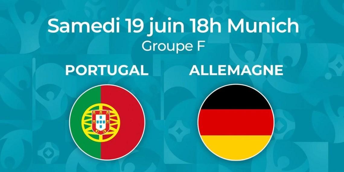 Euro 2021 - Regarder Portugal vs Allemagne en streaming live.