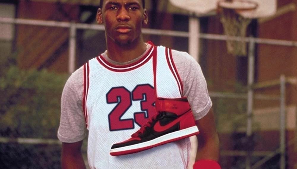 Nike Jordan 1 brevet