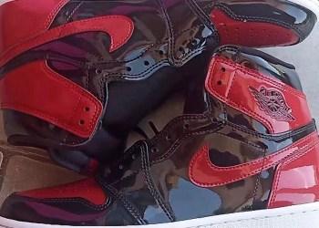 """Jordan 1 High OG """"Patent Bred"""""""