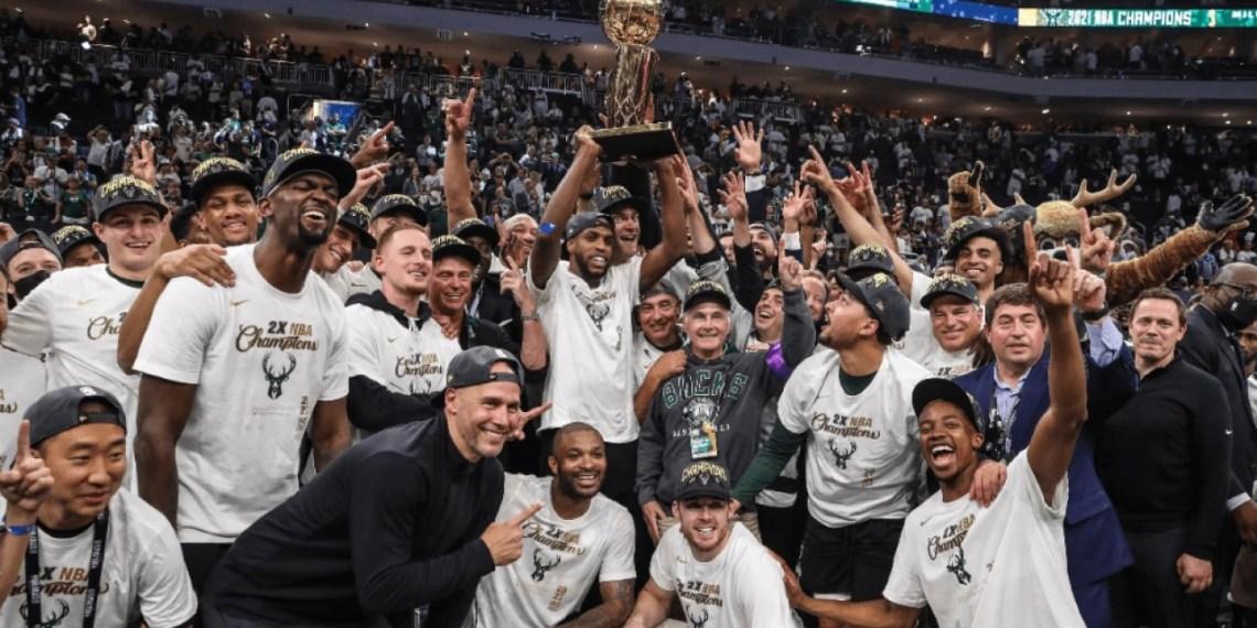 Milwaukee champion NBA de la saison 2020-2021