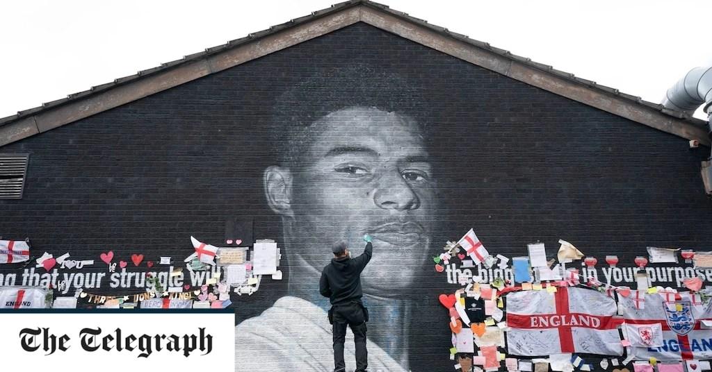 Marcus Rashford : Une fresque symbole de division