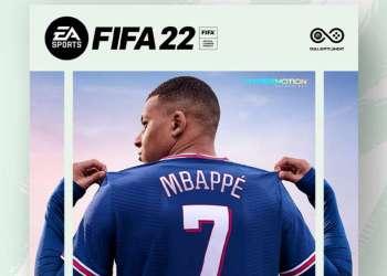 Mbappe sera sur la prochaine cover du jeu EA Sports FIFA 22