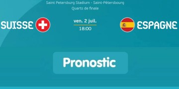 Suisse-Espagne : Regarder le match en streaming