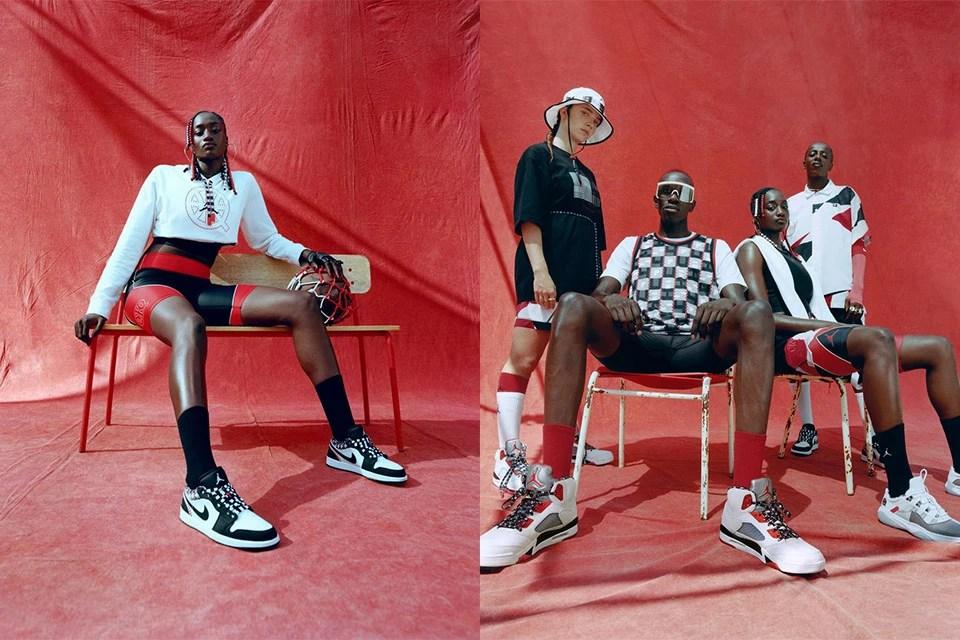 Jordan Brand innove encore une fois avec des créations en collaboration avec Quai 54 et l'équipe de France