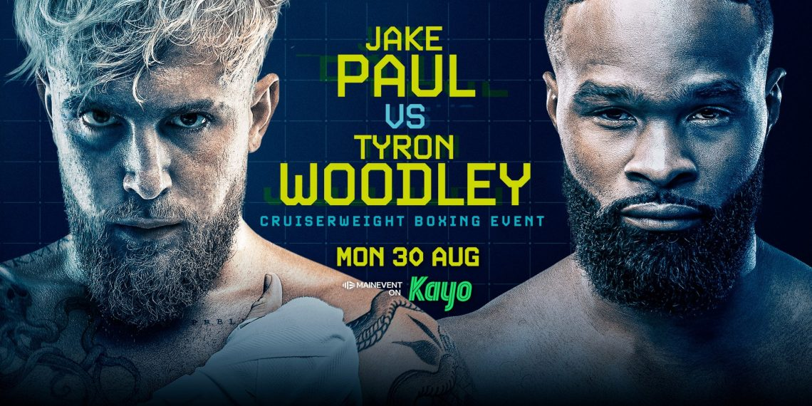 Jake Paul contre Tyron Woodley streaming - Horaire, programme ...