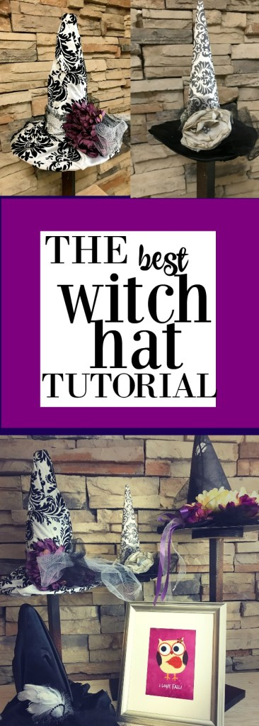 Witch hat Tutorial plus ideas on themes with printables!