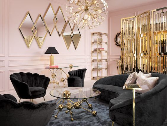How to Modernize Hollywood Regency and Art Deco Style