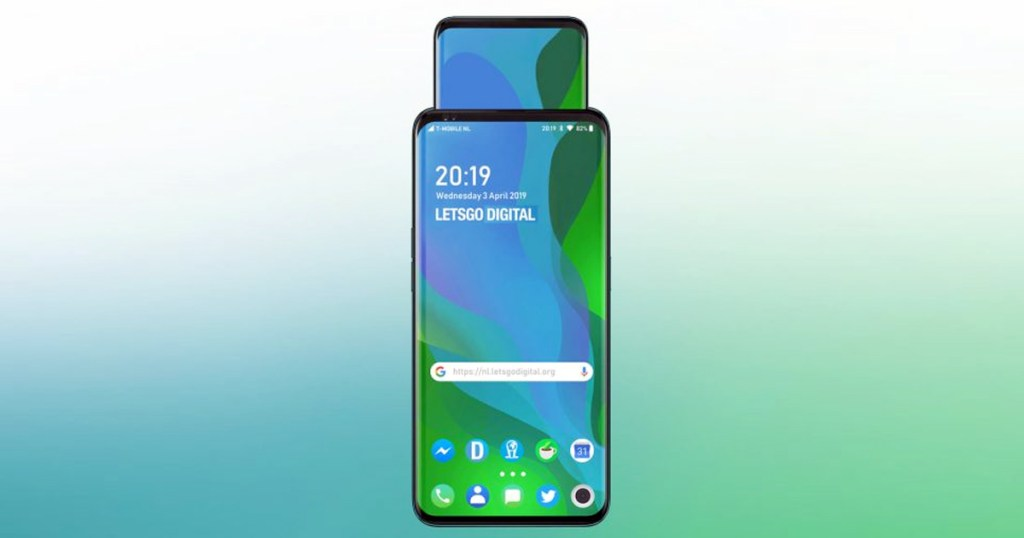 OPPO PATENTS SHOW DEVICES WITH SLIDING DISPLAYS POP UP