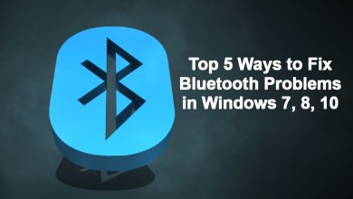 Photo of Top 5 Ways to fix Bluetooth problems in windows 7,8,10