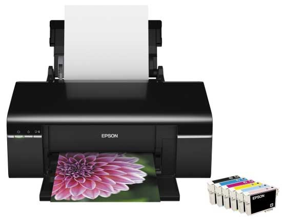 Epson T60 Printer Resetter