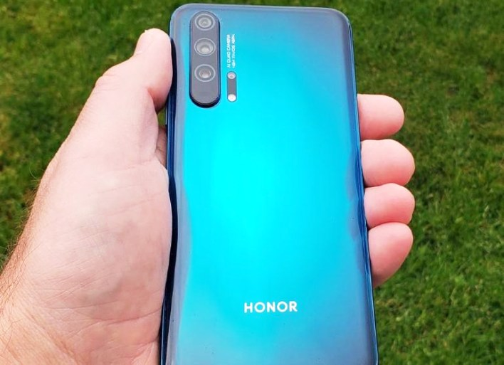 Honor 20 Pro Official Look