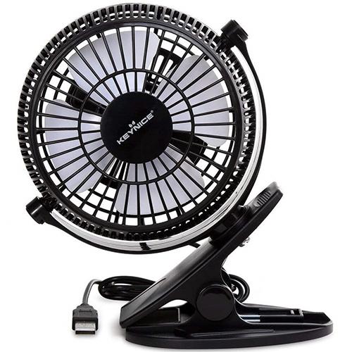 Keynice USB Desk Fan