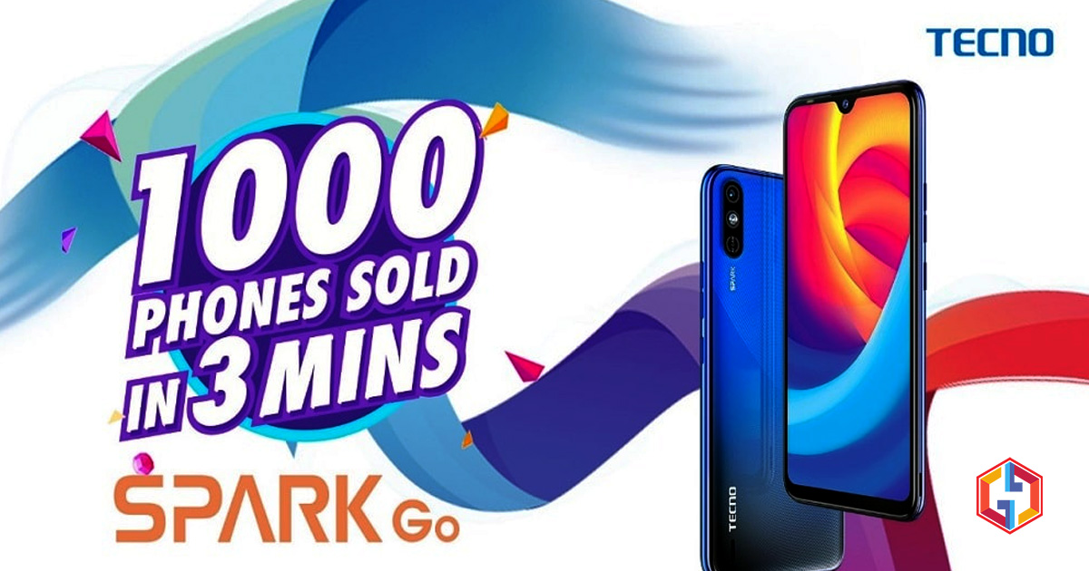 The First Day Of Tecno Spark Go Release Makes Record Breaking Sales