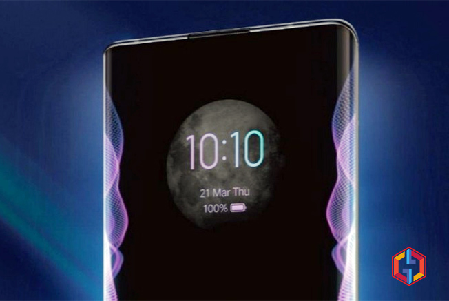 Vivo Nex 3 5G Waterfall Screen Display