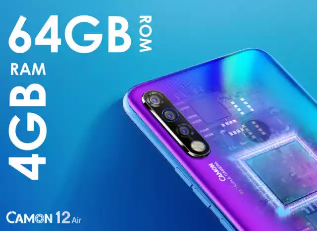 Camon 12 Air Smartphone