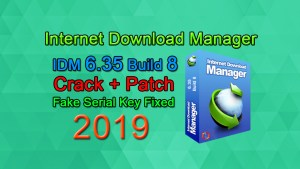 IDM 6.35 Build 8 incl Patch [32bit+64bit] Fake Serial Fixed