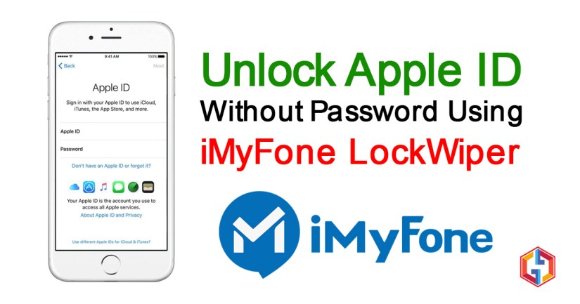 Unlock Apple ID without password using iMyFone LockWiper