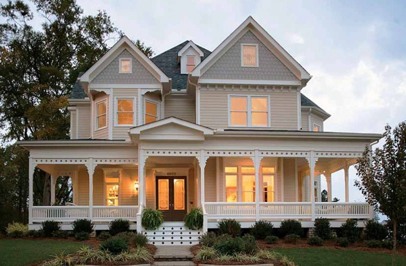 Modern Colonial Home Design