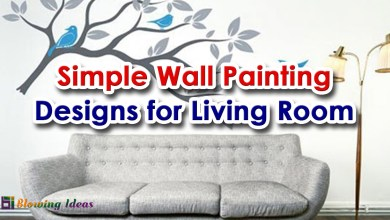 Photo of Simple Wall Painting Designs for Living Room 2020