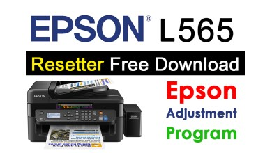 Photo of Epson L565 Resetter Adjustment Program Free Download