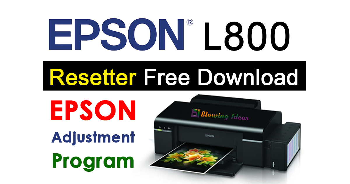 epson printer l800 resetter software free download