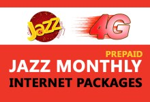 Photo of Jazz Monthly Internet Packages | Prepaid Packages