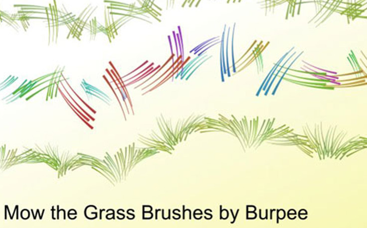 Mow The Grass Brushes