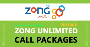 Zong Unlimited Call Packages