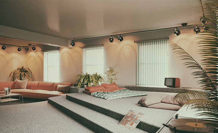 80s Interior Decor