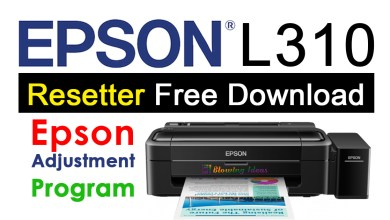 Photo of Epson L310 Resetter Adjustment Program Free Download