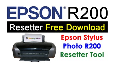 Photo of Epson R200 Resetter Adjustment Program Free Download