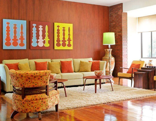 Modern 1960s House Interior Designs