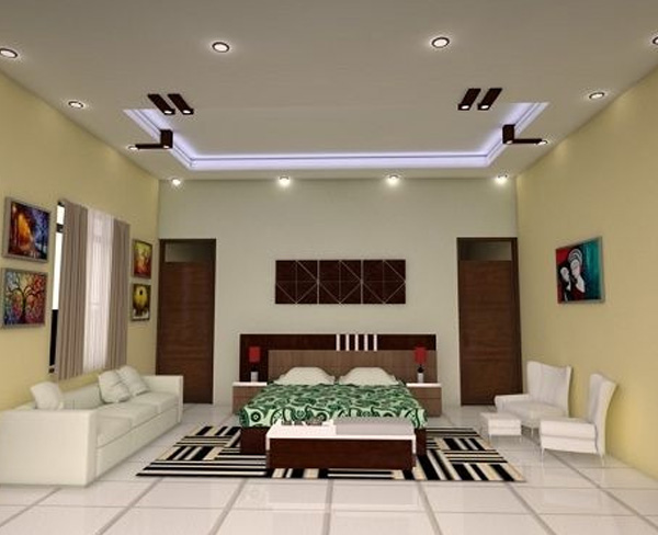 Simple And Stylish Ceiling Design For Bedroom