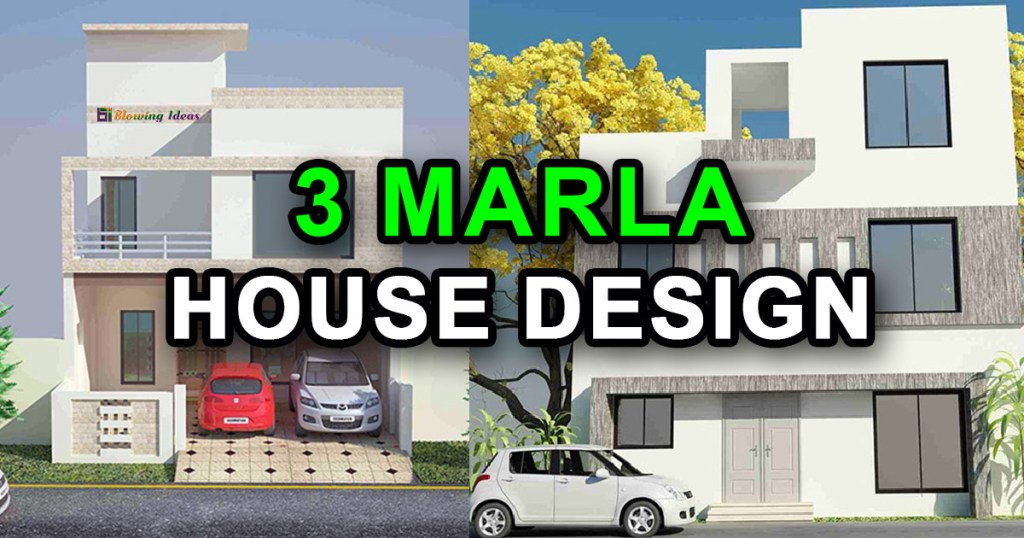 3 Marla House Design Ideas With 3D Elevation
