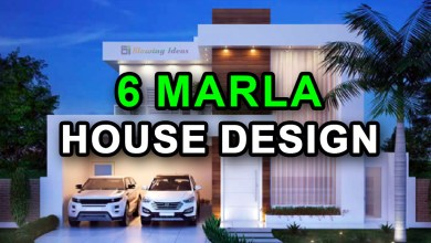 Photo of 6 Marla House Design Ideas with 3D Elevation