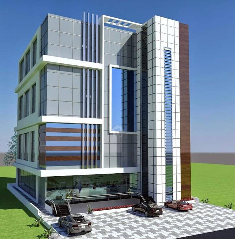 8 Marla Plaza Design