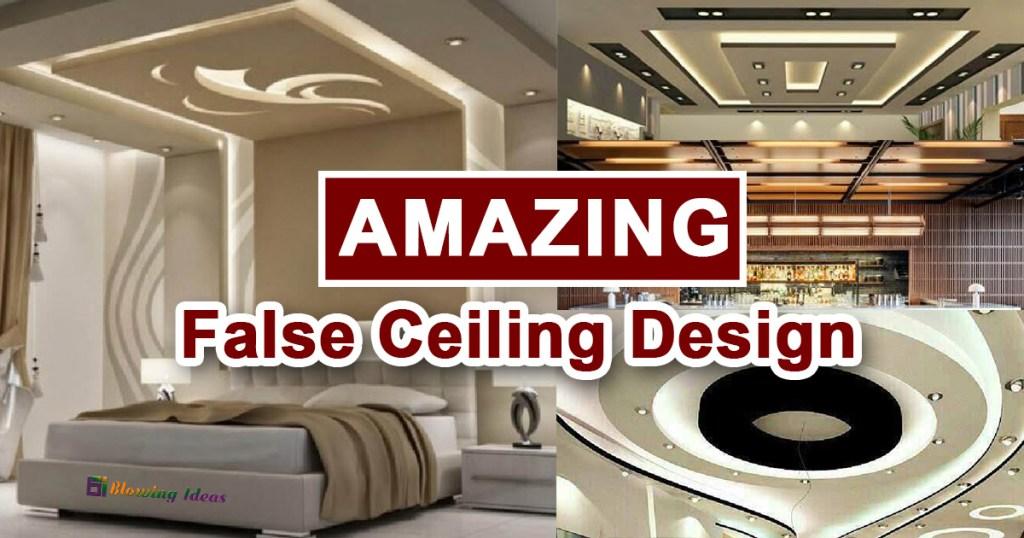 Amazing False Ceiling Design Ideas For Your Home
