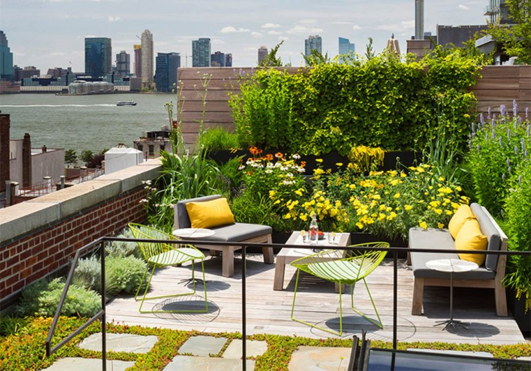 Beautiful Rooftop Decks and Terrace