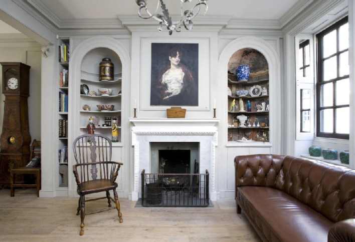 English Style House Interior