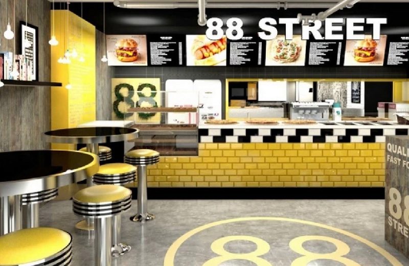 Fast Food Shop Design