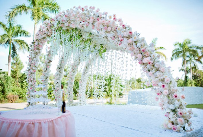 Flowers Decoration for Anniversary