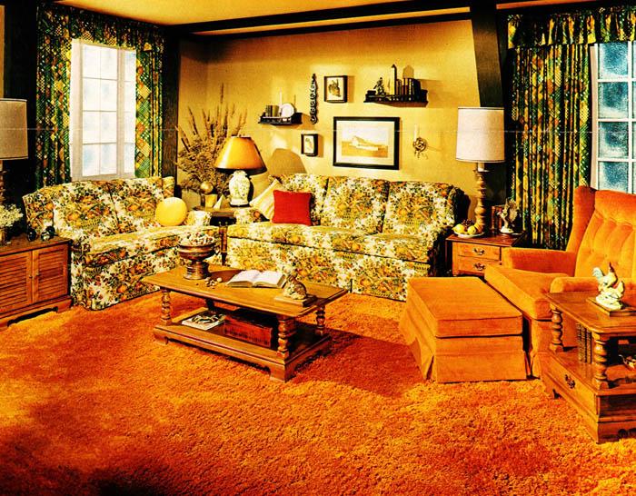 Furnished 1970 Interior Design