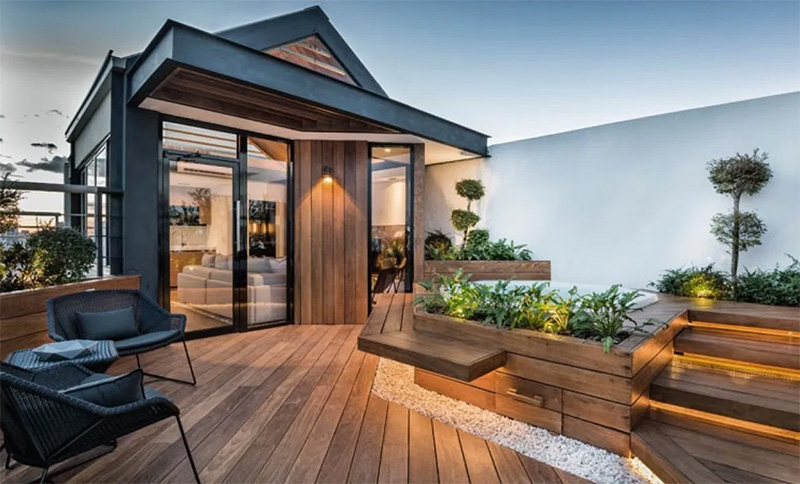 Modern Rooftop Design Ideas