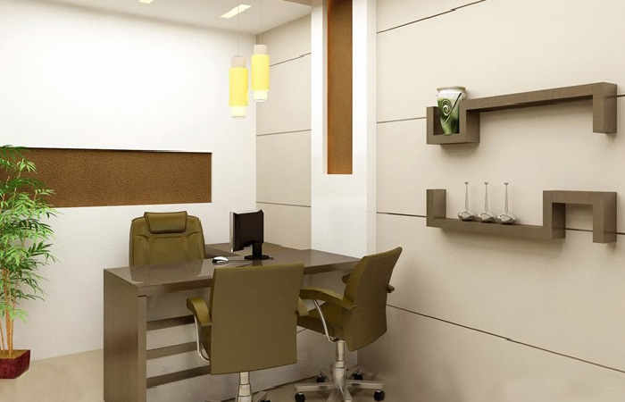 Small Workspace Design For Office
